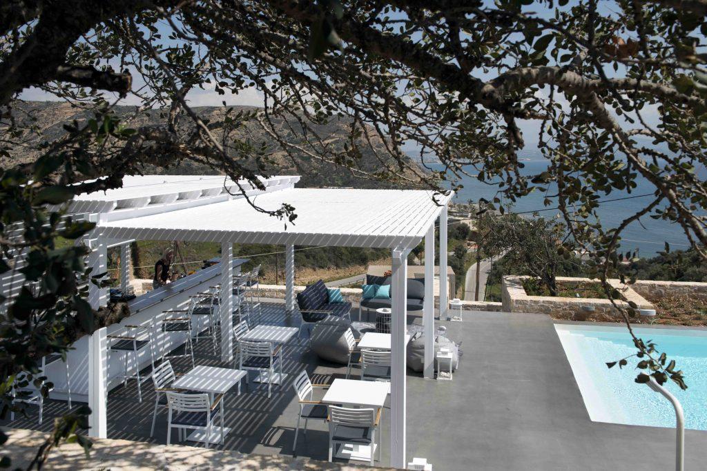 Terrace Galini Breeze Sundowners Breakfast